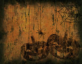 Fond de grunge halloween — Photo