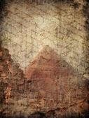 Misterio de la pirámide — Foto de Stock