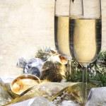 Champagne Glasses — Stock Photo #7688599