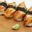 Eel sushi — Stock Photo #7093042