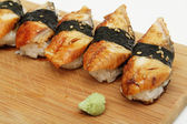 Eel sushi — Stock Photo