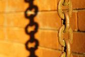 Antigua cadena oxidada — Foto de Stock