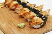 Eel sushi — Stock Photo