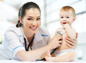 Pediatrician — Stockfoto