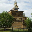 Wooden ancient church. Russia, Moscow. Kolomenskoe park — Stock Photo #7032859