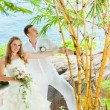 boda tropical — Foto de Stock