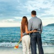 Couple on the beach — Stock Photo #6807712