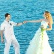 Foto de Stock  : Tropical wedding