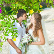 Tropical wedding — Photo