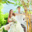 Tropical wedding — Stock Photo #6866427
