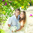 boda tropical — Foto de Stock   #6948897