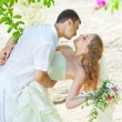 Tropical wedding - Stock fotografie