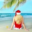 Miss Santa — Stock Photo #7365124
