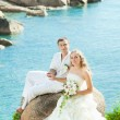 Tropical wedding — Foto de Stock