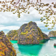coron lagoon — Stock Photo