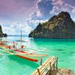 Coron lagoon — Stock Photo #7860350