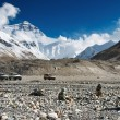 Stock Photo: Mount Everest, base camp