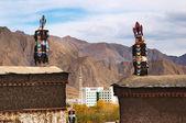 Monasterio tibetano — Foto de Stock