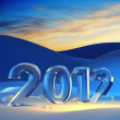 Foto de Stock  : New year 2012
