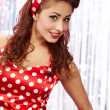 Pin-up girl. American style — Stock Photo #6765969