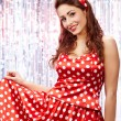 Pin-up girl. American style — Stock Photo #6766160