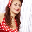 Pin-up girl. American style — Stock Photo #6766639