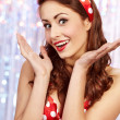Pin-up girl. American style — Stock Photo #6767038