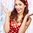 Pin-up girl. American style — Stock Photo #6767182