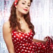 Pin-up girl. American style — Stock Photo #6767493
