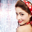 Pin-up girl. American style — Stock Photo #6767577