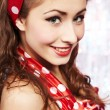 Pin-up girl. American style — Stock Photo #6767619