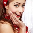 Pin-up girl. American style — Stock Photo #6767653