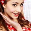 Pin-up girl. American style — Stock Photo #6767699
