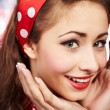 Pin-up girl. American style — Stock Photo #6767735