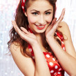 Pin-up girl. American style — Stock Photo #6767770