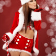 Christmas woman — Stock Photo #7146437