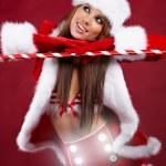 Christmas woman — Stock Photo #7146481