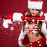 Christmas woman — Stock Photo #7146497