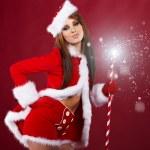 Christmas woman — Stock Photo #7146521