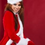 Christmas woman — Stock Photo #7146542