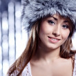 Smiling Winter Woman — Stock Photo #7228670