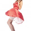 Pin-up girl. American style — Stock Photo #7309693