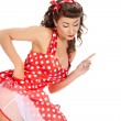 Pin-up girl. American style — Stock Photo #7309707