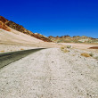 Lifeless landscape of the Death Valley — Stock Photo #6903297