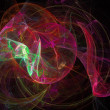 Abstract fractal background — Foto Stock