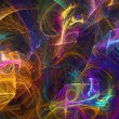 Abstract fractal background — Stockfoto