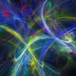 Abstract fractal background - Foto de Stock
