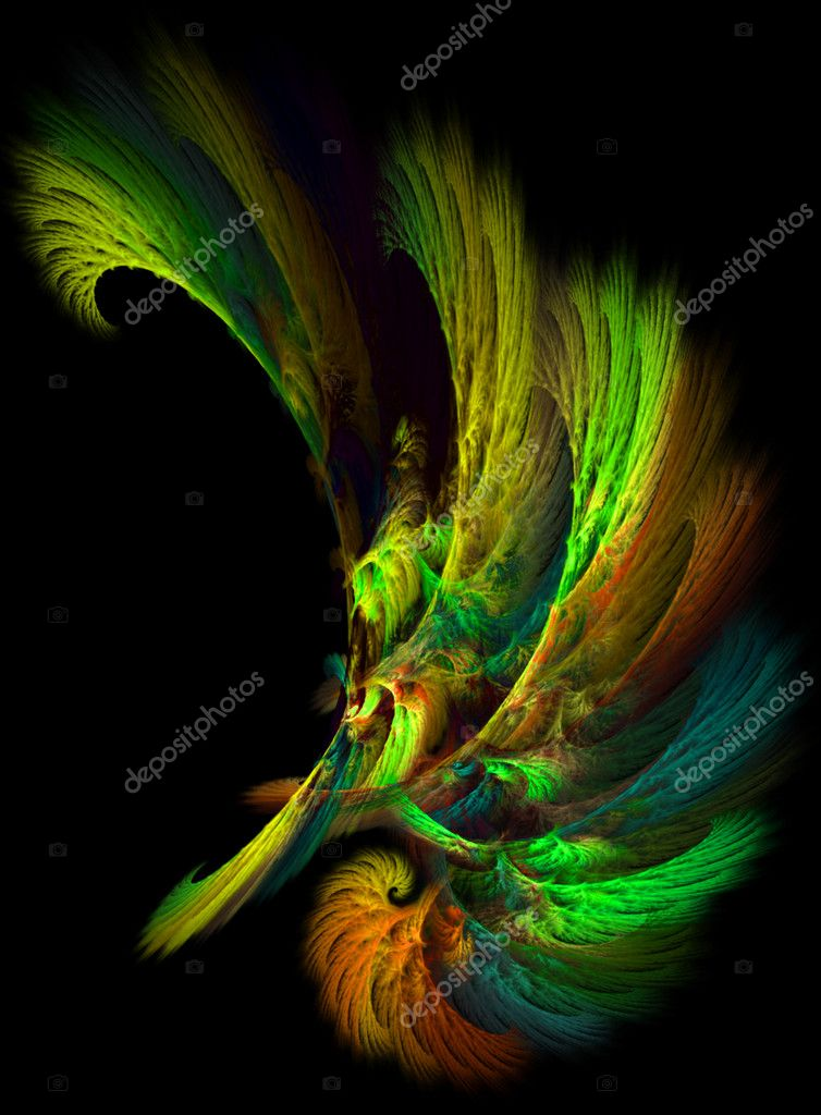 Abstract fractal background. — Stock Photo #7278501