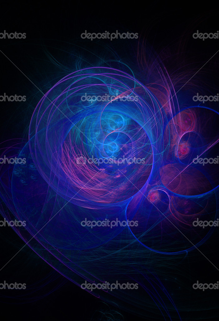 Abstract fractal background.  Stock Photo #7339455