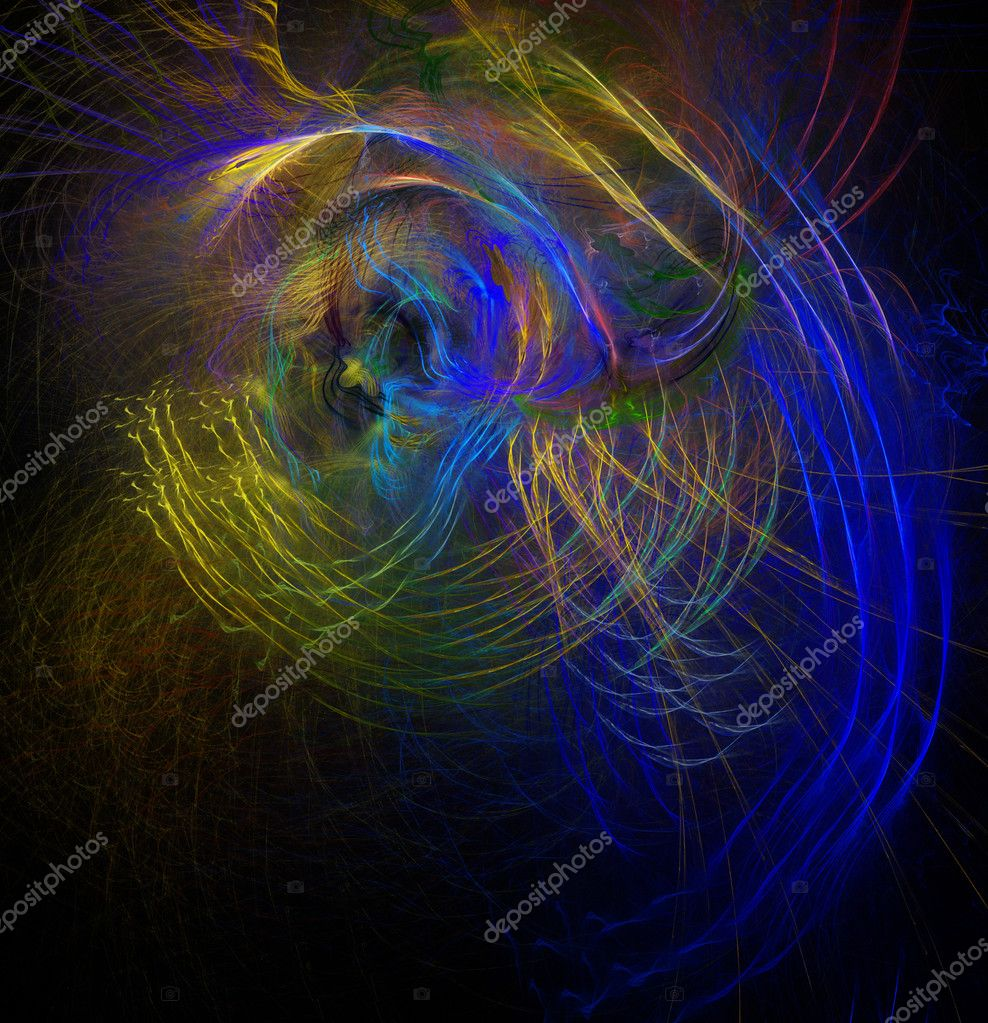 Abstract fractal background. — Stock Photo #7339553